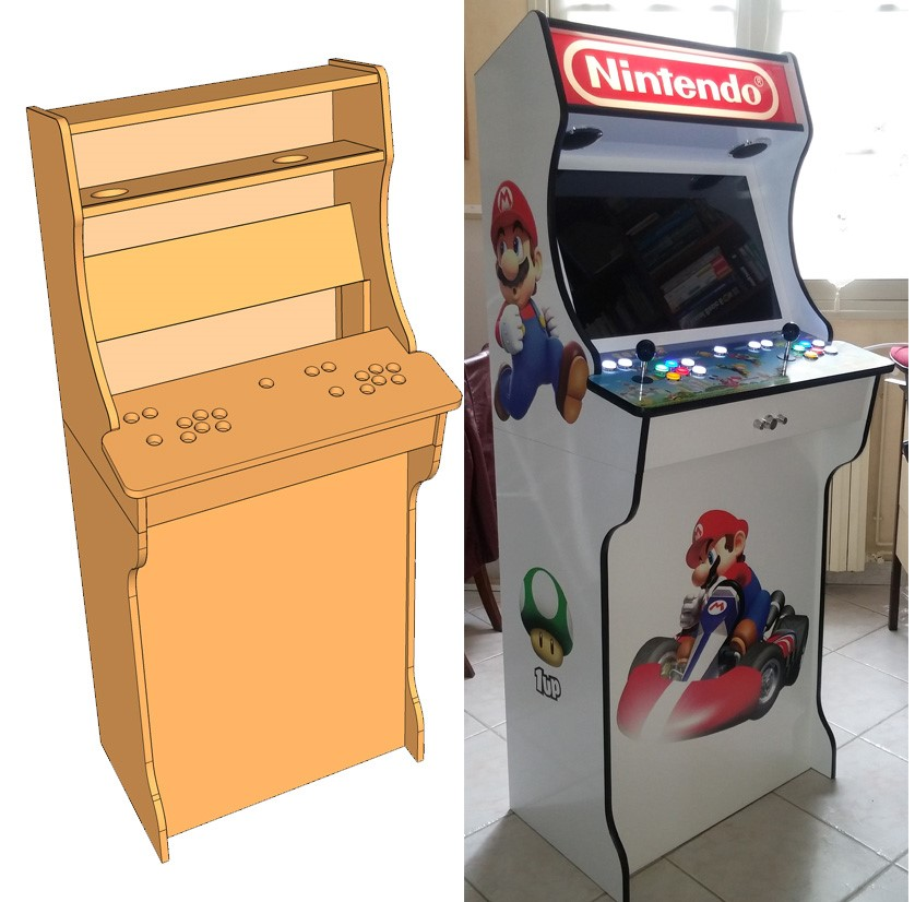 borne arcade forum